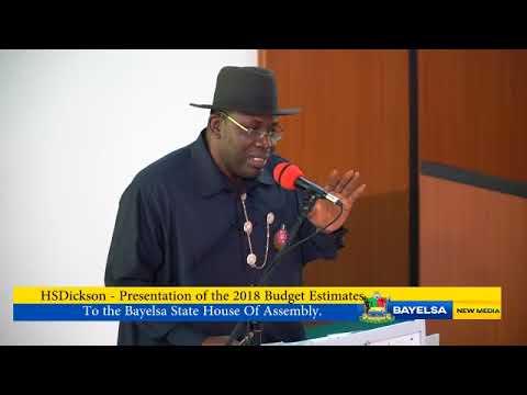 HSDickson Presentation of 2018 Budget Estimate to the BYHA