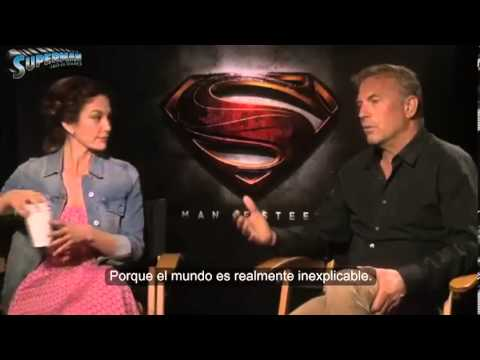 Man of Steel - Entrevista a Kevin Costner y Diane Lane (Jonathan y Martha Kent)