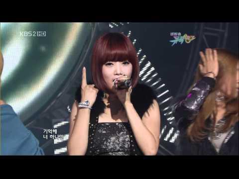091030 T ara TTL KBS Music Bank