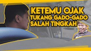TUKANG GADO-GADO SALAH TINGKAH KETEMU BANG OJAK |  #ISENGISENG #EZAYAYANGVLOG #TUKANGOJEKPENGKOLAN
