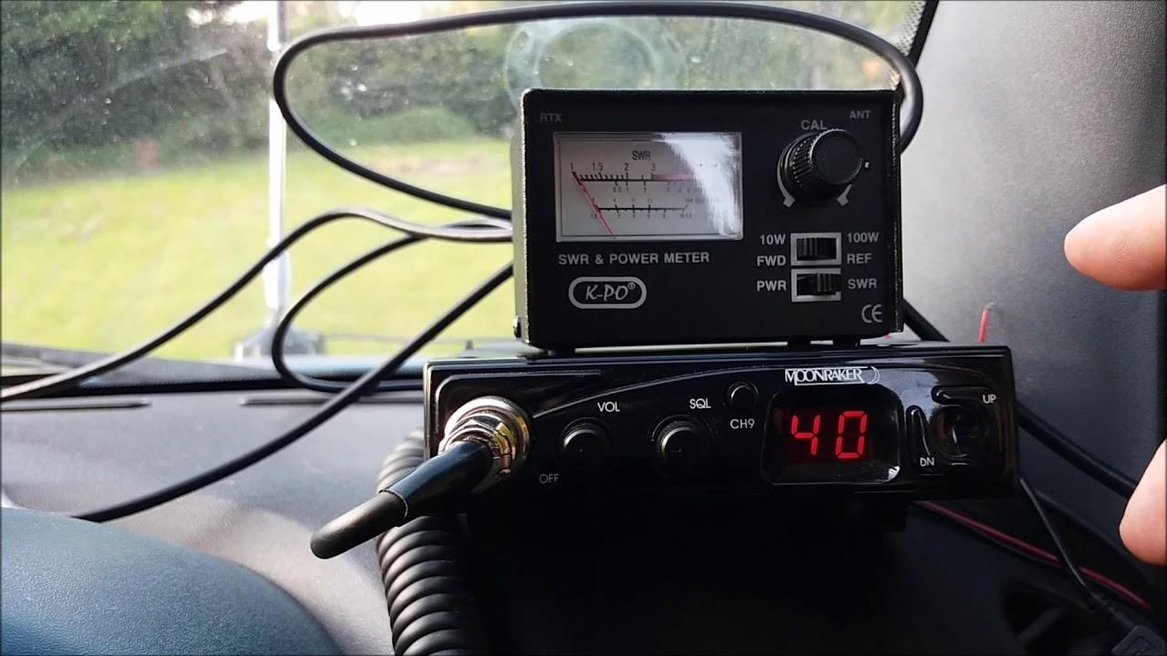 Cheap Mini Mag CB Antenna Test - SWR Pre-Tuned?