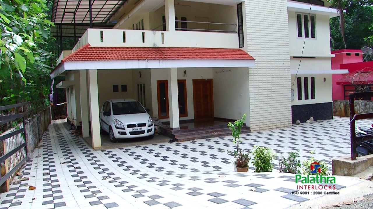 Eden Decorators Kottayam : Interlock paving blocks in kottayam kerala palathra