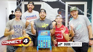 'Connect 4 Shots w/ Dude Perfect' Official Teaser - Hasbro Gaming
