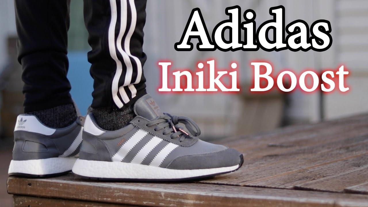 Adidas Iniki Runner (Grey) Close Up