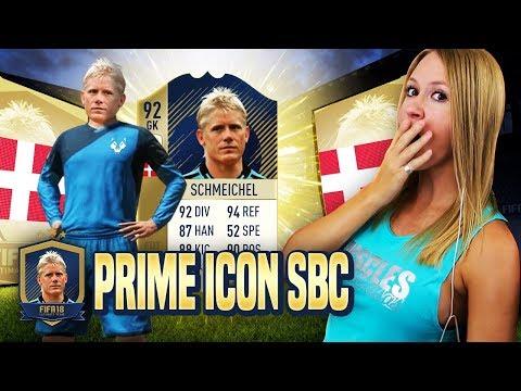 MY FIRST PRIME ICON!! PRIME ICON SBC COMPLETE! - FIFA 18