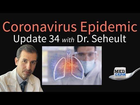 Coronavirus Epidemic Update
