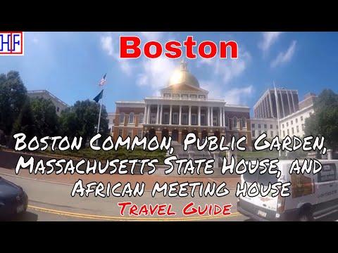 Boston | Boston Common, Public Garden, Massachusetts State House + | Tourist Attractions | Epi# 15
