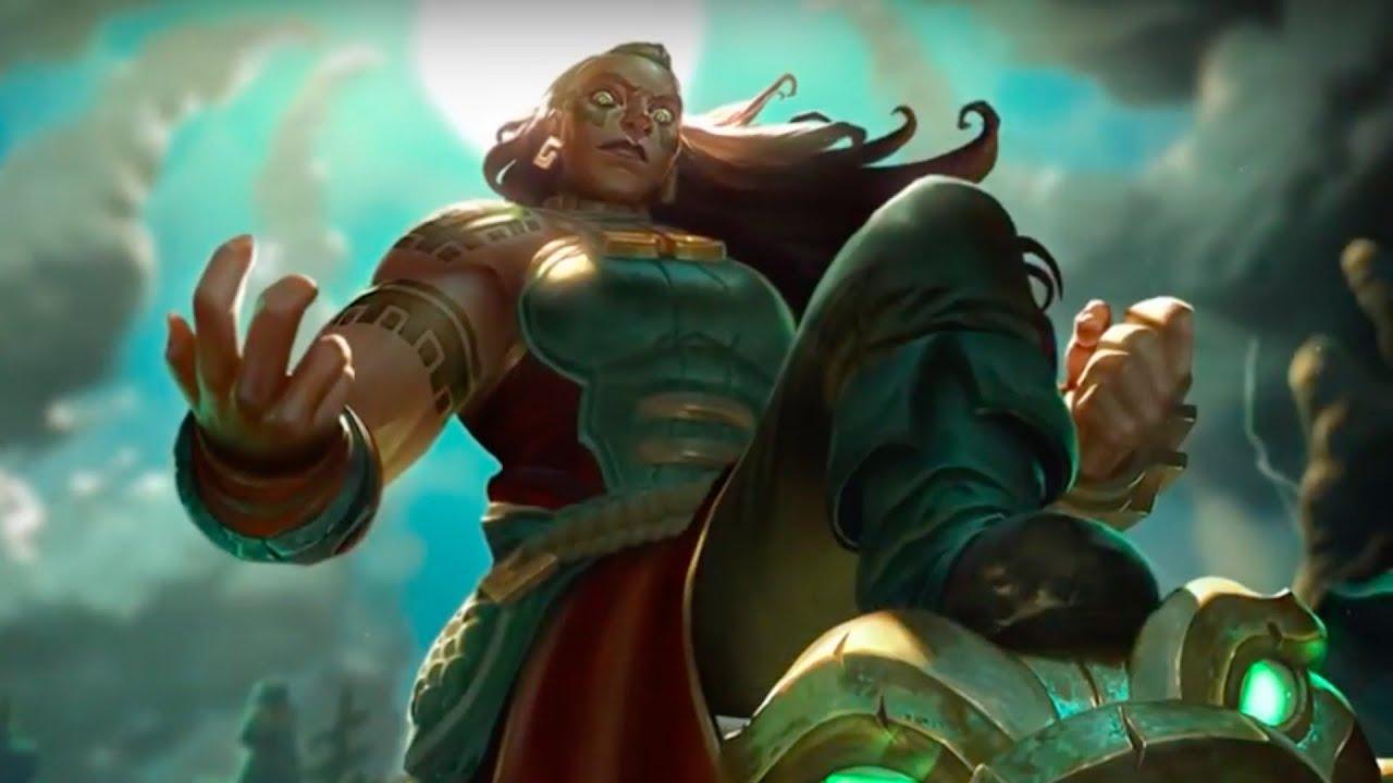 League of legends illaoi