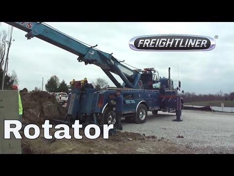 Worksheet. 75 Ton Rotator Tow Truck Setting Concrete Intake  YouTube