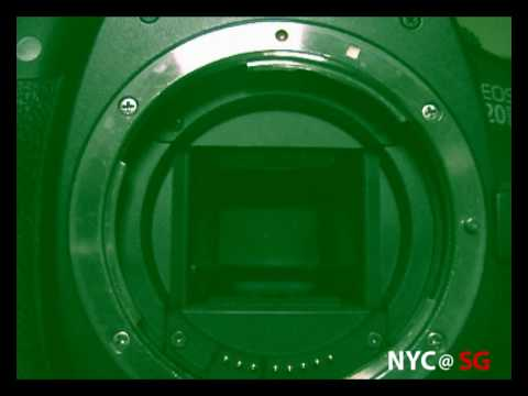 Canon EOS 20D Err 99