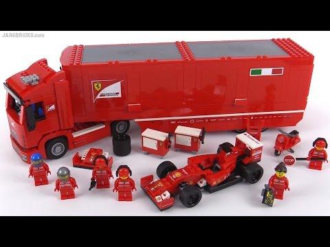 lego speed champions f14 t scuderia ferrari truck review. Black Bedroom Furniture Sets. Home Design Ideas