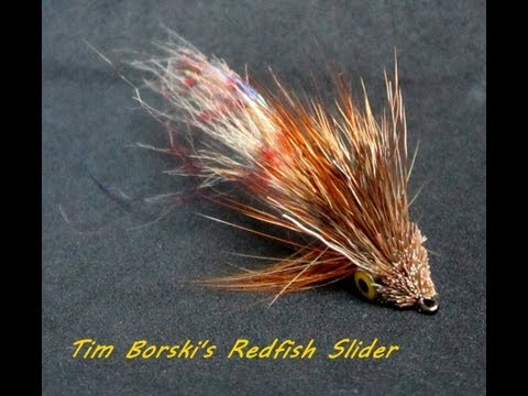 How To Tie Borski's Redfish Slider