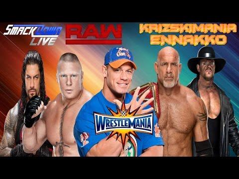 The Krizski - Ennakko WWE WrestleMania 33
