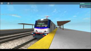 ROBLOX:RAILFLAING--north philly Amtrak ACS-64--
