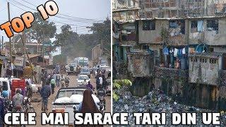 TOP 10 CELE MAI SARACE TARI DIN U.E.