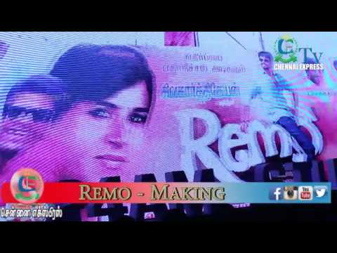 Remo Tamil Movie Start to End  Making...