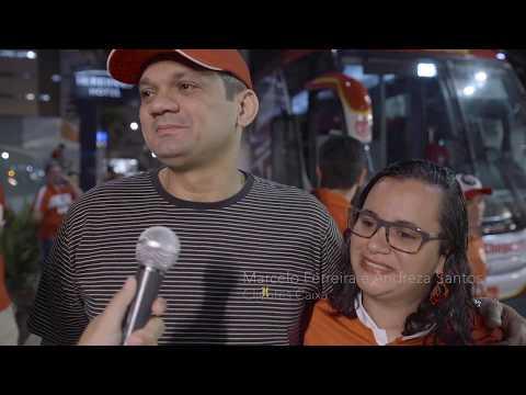 Inauguração Ônibus CRB - Ação de mkt Caixa