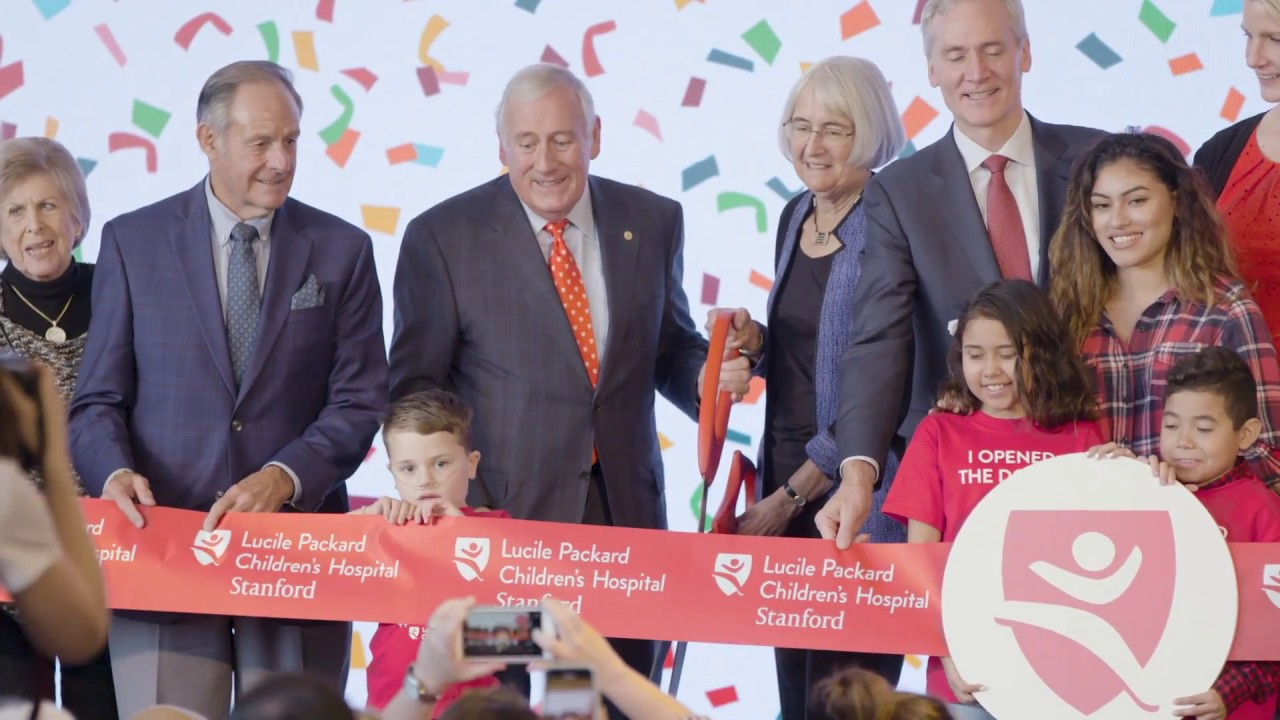 Ribbon Cutting and Dedication of the NEW Lucile Packard Children's Hospital  Stanford