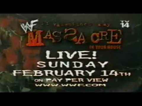 Wwf St Valentine S Day Massacre 1999 Commercial Youtube