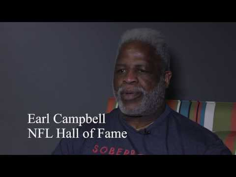 Earl Campbell Interview at SoberBowl SuperFest