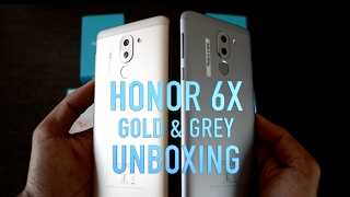 Huawei HONOR 6X  Unboxing, review, Build quality, Software, hardware & UI| (Gold & Grey)