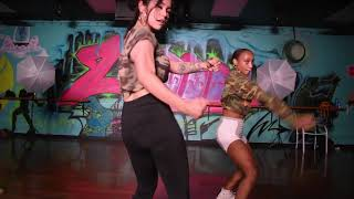 Miss Mulatto   Bitch from the south dance cover by shawn king and emily gleeson