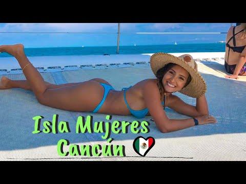 Cancún, ISLA MUJERES en Catamarán | Mexico Vlog #2