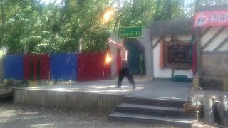 Dancing Fire Swords Men - Renaissance Fair