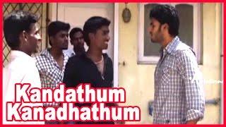 Kandathum Kanadhathum Movie | Scenes | Vikash's father advices him | Suvashika