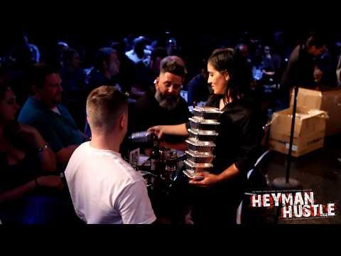 Paul Heyman Buys Shrimp Tempura For 300 People in New York City