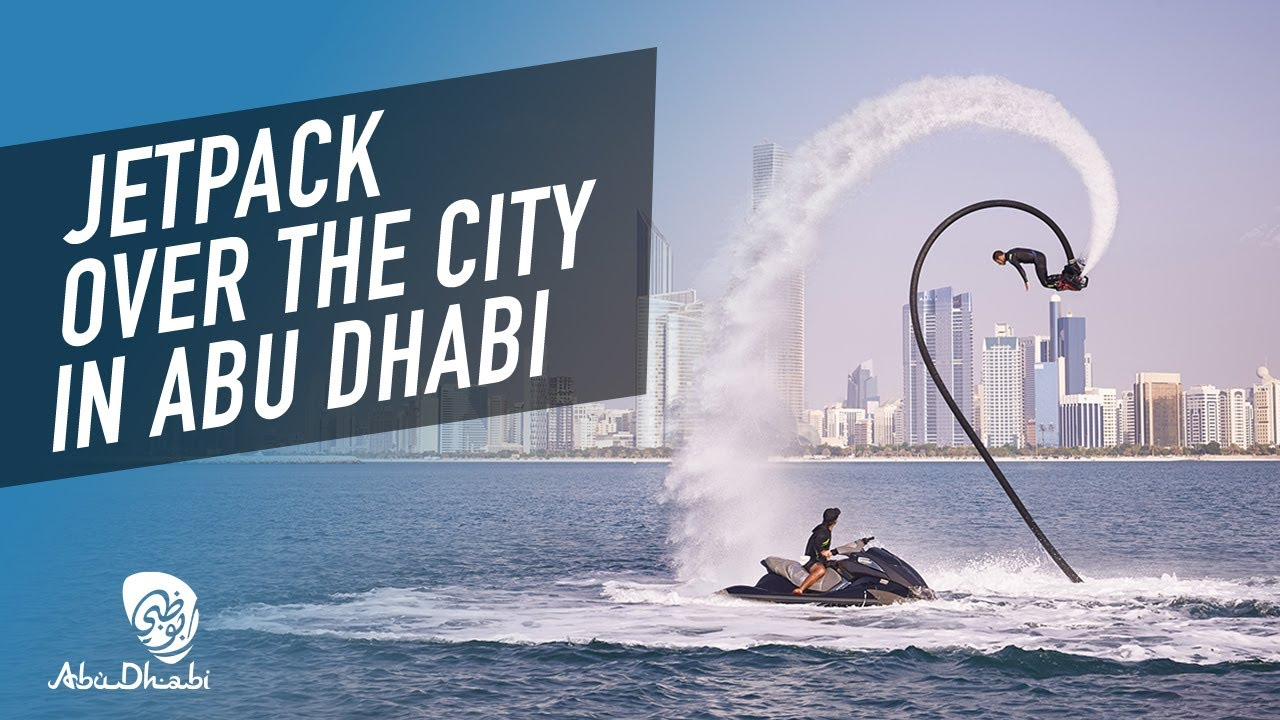Check out epic watersports activities in Abu Dhabi! | 360 video | Visit Abu Dhabi