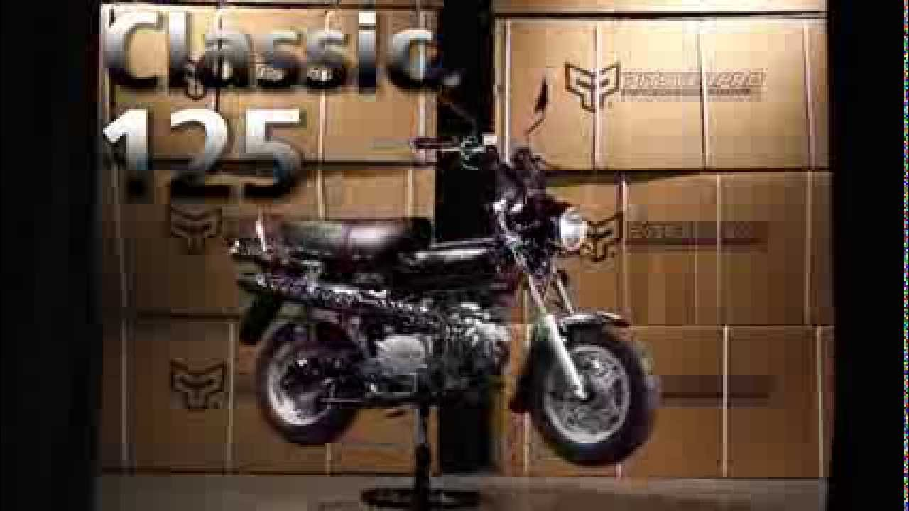 Classic 125 street legal bike by pitster pro youtube for Electric motor repair rochester ny