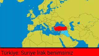 Avrasya Geleceği 1 Suriye İrak Toprakları Türkiyenin Azerbeycan Büyüyor Nazi Almanyası Kuruldu