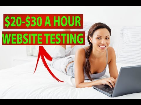 3 Websites That Will Pay You $20-$30 An Hour (WEBSITE TESTING)