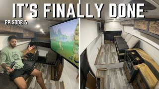 Finishing Touches | Off Grid Camper Van Build Ep. 5