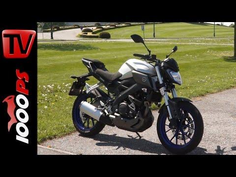 Yamaha MT125 2016 Test | Details, Preis, Onboard