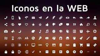 Como utilizar iconos personalizados en nuestro sitio web mediante fuentes y CSS