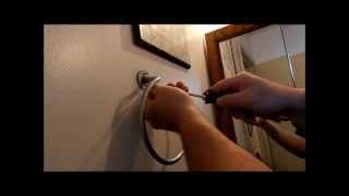 How to Fix/Install a Towel Rack