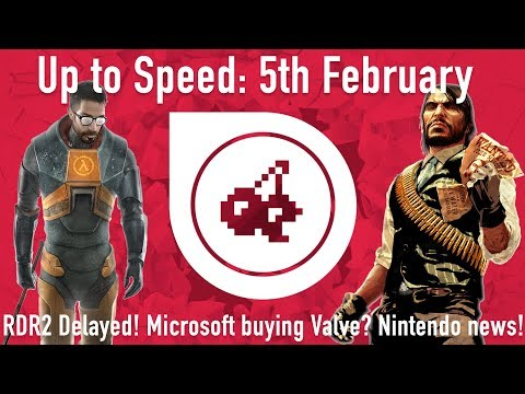 Up to Speed - 5th February (MARIO KART ON MOBILE - RDR2 Delayed - NEW Crash Bandicoot!) - 동영상
