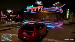 GTA V REDUX rainy night WOW