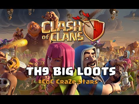 Clash Of Clans TH9 Best Loot Forecaster | CoC CrazeStars