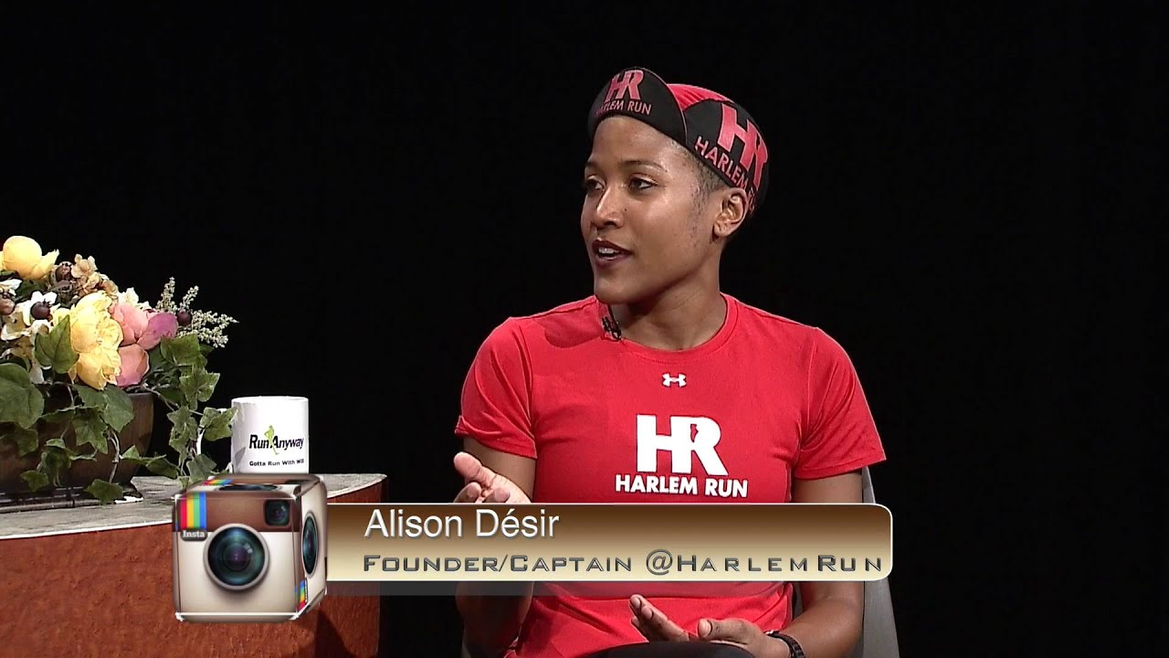 Alison Désir founder of Harlem Run guest stars - YouTube