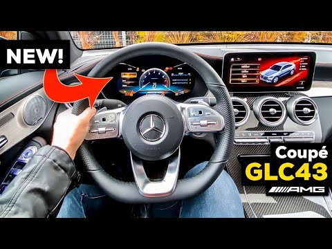 2020 MERCEDES GLC 43 AMG Coupé NEW Facelift FULL Interior Review BETTER Than BMW X3?! MBUX