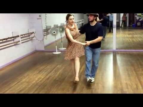 Charleston hand-to-hand and other variations- Boulder Swing Dance level 2