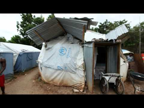 Nearly a year after Haiti's earthquake