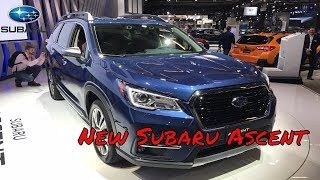 Новый Subaru Ascent | Новая Субару Ассент | Новый субарик | Новый восьми местный Subaru...