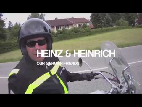 Harley trip to Croatia - pt2 - romantic road through to Munichs hoffbrauhaus