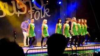 Hevia - Busindre Reel (Live @ BustoFolk 2011)