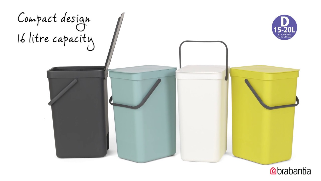 Brabantia Sort & Go Waste Bins - YouTube