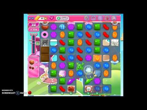 Candy Crush Level 1587 w/audio tips, hints, tricks